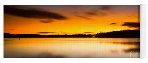 Lake Lanier Sunrise Yoga Mat