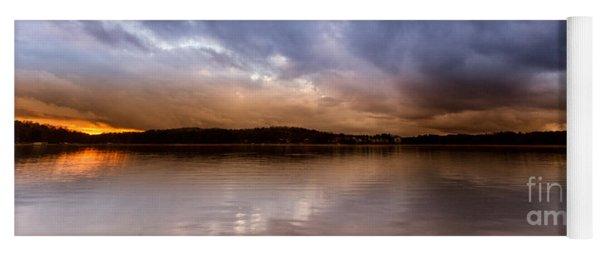 Lake Lanier Sunset Yoga Mat