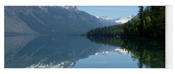 Lake Mcdonald - Glacier National Park Yoga Mat