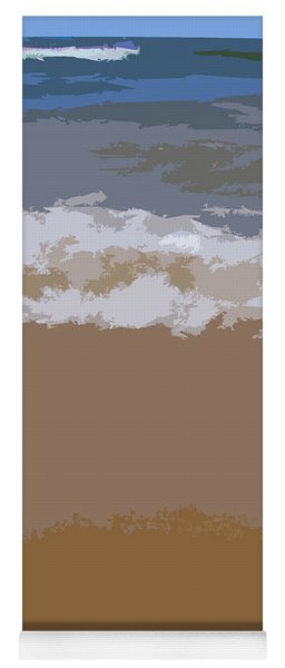 Lake Michigan Shoreline Yoga Mat