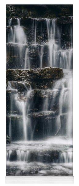 Lake Park Waterfall 2 Yoga Mat