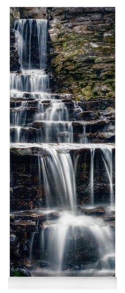 Lake Park Waterfall Yoga Mat