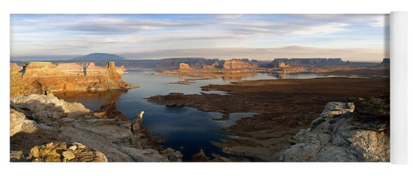Lake Powell From Alstrum Pt Pan 2 Yoga Mat