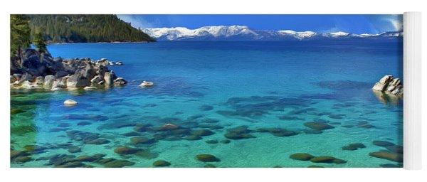 Lake Tahoe Cove Yoga Mat