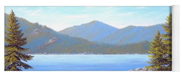 Lake Tahoe Inlet Yoga Mat