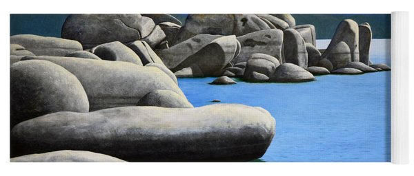 Lake Tahoe Rocky Cove Yoga Mat