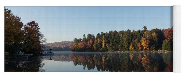Lakeside Cottage Living - Peaceful Morning Mirror Yoga Mat