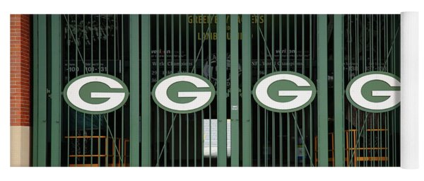 Lambeau Field - Green Bay Packers Yoga Mat