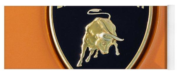 Lamborghini Emblem -0525c55 Yoga Mat