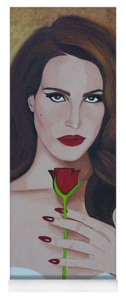 Lana Del Rey Yoga Mat