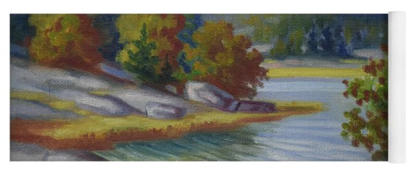 Landscape From Finland Yoga Mat