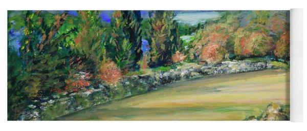 Landscape From Kavran Yoga Mat