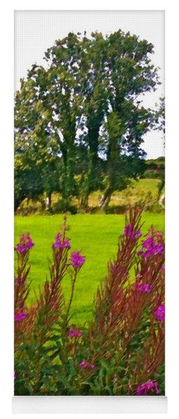 Lanna Fireweeds County Clare Ireland Yoga Mat