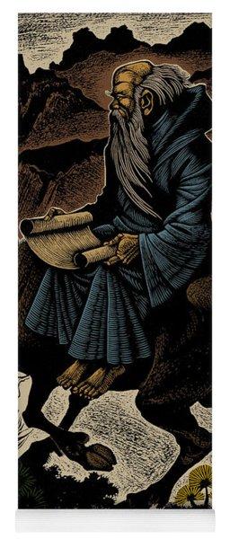 Laozi, Ancient Chinese Philosopher Yoga Mat