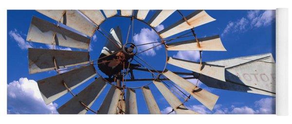 Large Windmill Yoga Mat