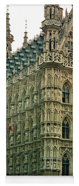 Late Gothic Town Hall Leuven Belgium Yoga Mat