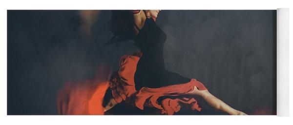 Latin Dancer Yoga Mat