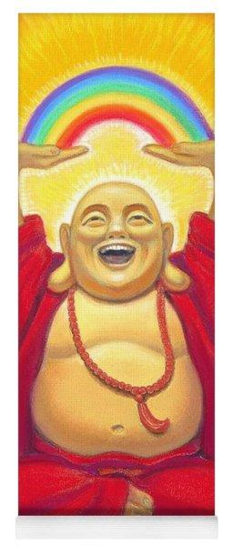 Laughing Rainbow Buddha Yoga Mat