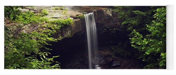 Laurel Falls Waterfall Yoga Mat