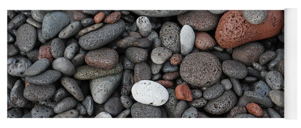 Lava Beach Rocks Yoga Mat