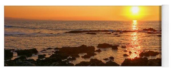 Lava Rock Beach Yoga Mat