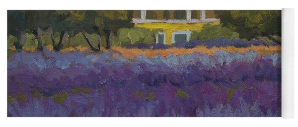 Lavender Farm On Vashon Island Yoga Mat