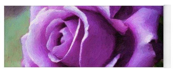 Lavender Lady Yoga Mat