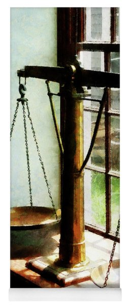 Lawyer - Scales Of Justice Yoga Mat