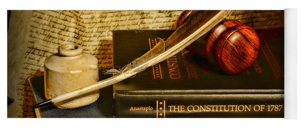 Lawyer - The Constitutional Lawyer Yoga Mat