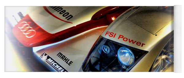 Le Mans 2002 Audi R8 Fsi Yoga Mat