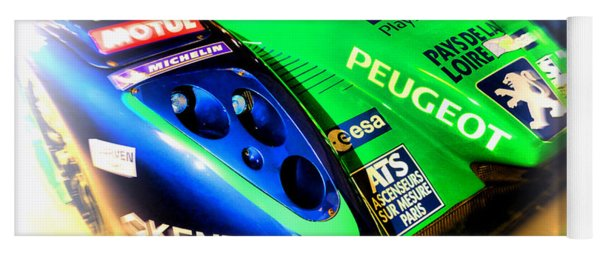 Le Mans 2009 Peugeot 908 Hdi Fap Yoga Mat