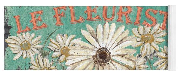 Le Marche Aux Fleurs 6 Yoga Mat