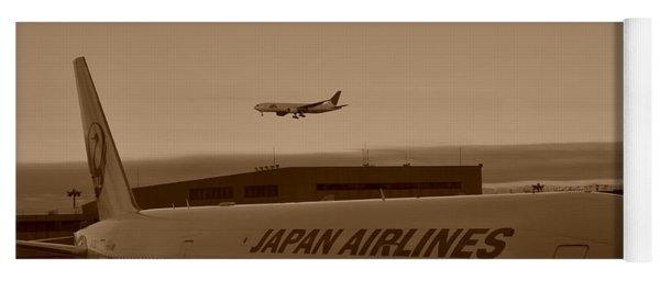 Leaving Japan Yoga Mat