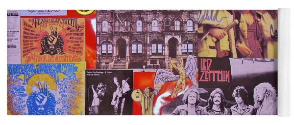 Led Zeppelin  Collage Number Two Yoga Mat