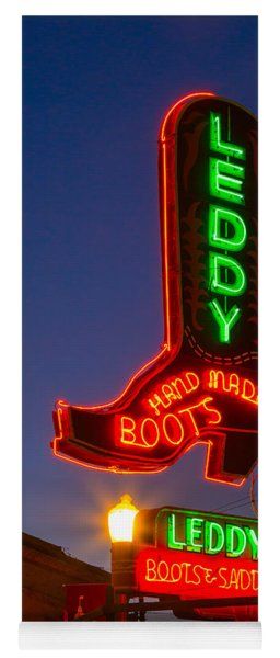 Leddy Boots Neon Yoga Mat