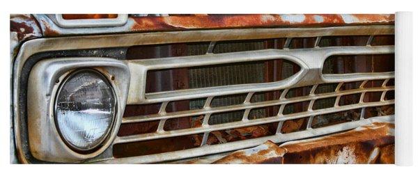 Left To Rust By Diana Sainz Yoga Mat