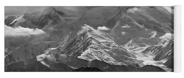 101366-lenticular Cloudcap Over Mt. Mckinley Yoga Mat