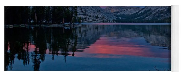Lenticular Sunset At Tenaya Yoga Mat