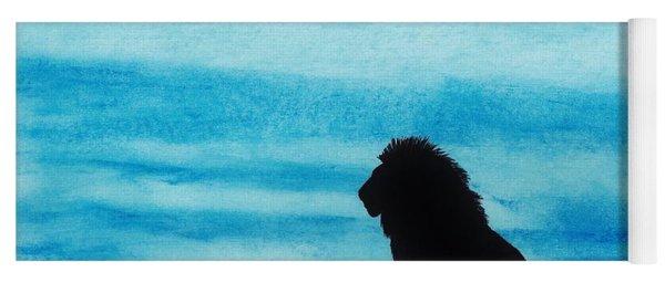 Leo At Sunset Yoga Mat