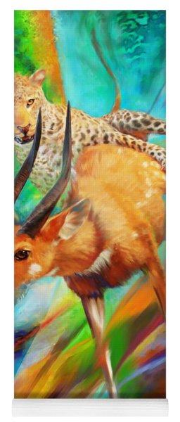 Leopard Attack Yoga Mat