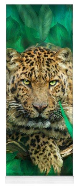 Leopard - Spirit Of Empowerment Yoga Mat