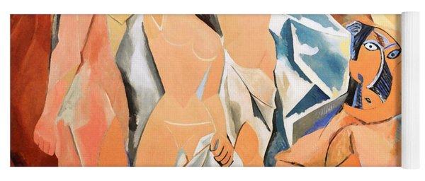 Les Demoiselles D'avignon Picasso Yoga Mat