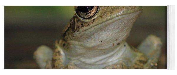 Let's Talk - Cuban Treefrog Yoga Mat
