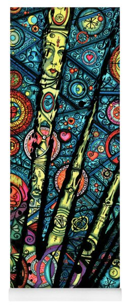 Letting Go Of Past Love Yoga Mat