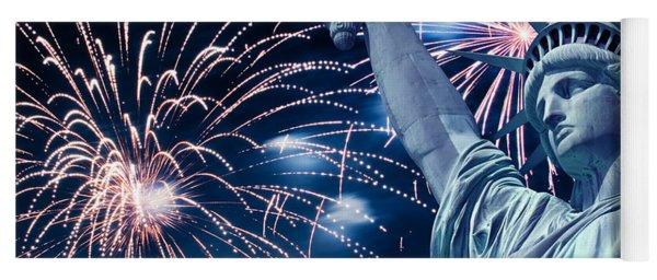 Liberty Fireworks Yoga Mat