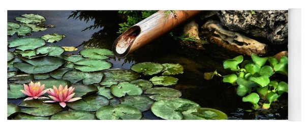 Life At The Lily Pond Yoga Mat