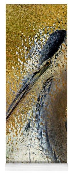 Life In The Sunshine - Bird Art Abstract Realism Yoga Mat