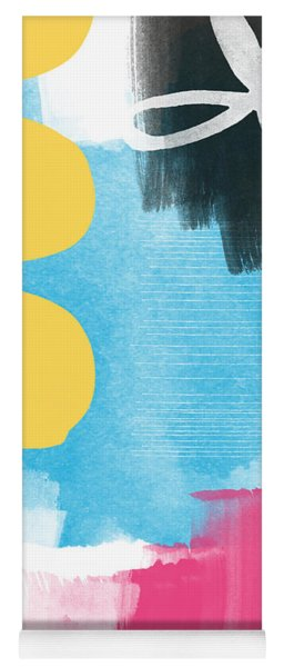 Life Is A Celebration-abstract Art Yoga Mat