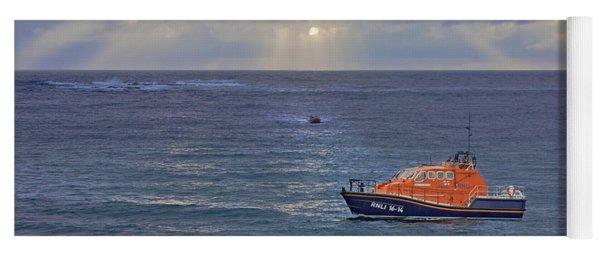 Lifeboats And A Gig Yoga Mat