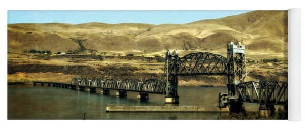 Lift Bridge Over The Columbia River Yoga Mat